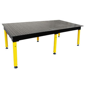 BuildPro™ MAX 8' x 4' Welding Table With Heavy Duty Leg