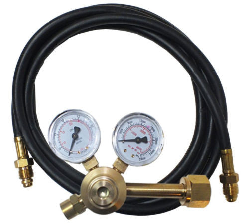 Norstar Flowgauge Regulator with Hose - CO2 - CGA320