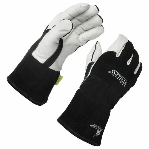 Weldas Arc Knight Premium Lined MIG/TIG Welding Gloves, Size M L XL