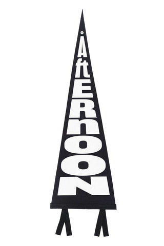 "Custom ""Afternoon"" Pennant"