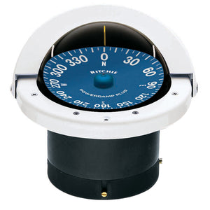 Ritchie SS-2000W SuperSport Compass - Flush Mount - White