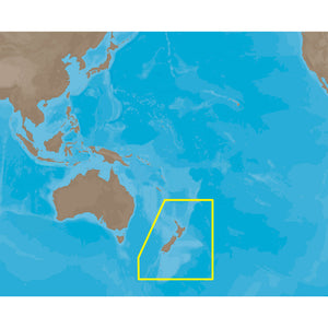 C-MAP MAX AU-M222 - New Zealand-Chat Kermadec Island - SD™ Card