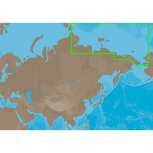 C-MAP MAX RS-M204 - Russian Federation North East - SD Card