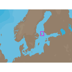 C-MAP NT+ EN-C308 - Aaland North - C-Card