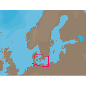 C-MAP NT+ EN-C160 - Eastern Denmark - C-Card