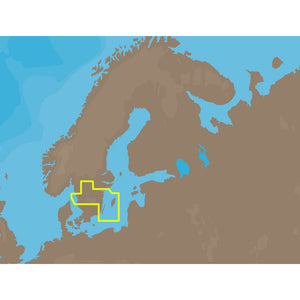 C-MAP NT+ EN-C256 - Inland Sweden - C-Card