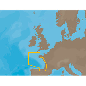 C-MAP NT+ EW-C203 - France Atlantic Coasts - C-Card
