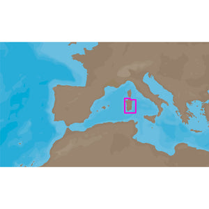 C-MAP NT+ EM-C912 - Sardinia South - Furuno FP-Card