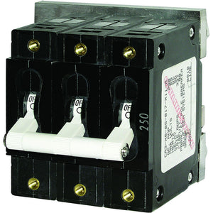 Blue Sea 7290 C-Series Triple Pole Circuit Breaker - 100A