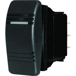 Blue Sea 8283 Water Resistant Contura Switch - Black