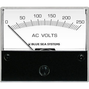 Blue Sea 9354 AC Analog Voltmeter 0-250 Volts AC