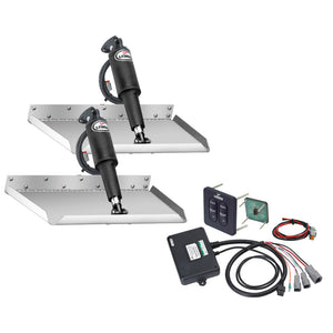 "Lenco 12"" x 9"" Edgemount Kit w-Standard Tactile Switch Kit 12V"
