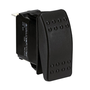 Paneltronics DPDT (ON)/OFF/(ON) Waterproof Contura Rocker Switch - Momentary Configuration