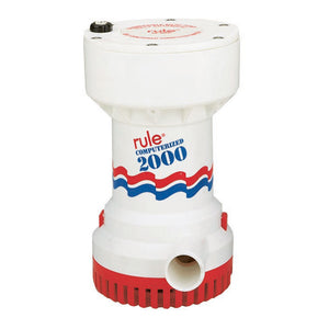 Rule 2000 G.P.H. Automatic Bilge Pump
