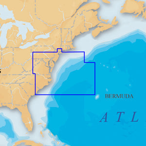 Navionics Platinum+ - US Mid Atlantic and Canyons microSD/SD
