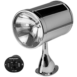 "Jabsco 7"" Chrome Plated Spot Light - 12v"