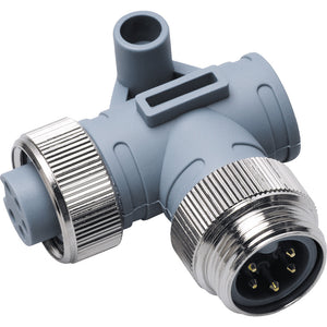 Maretron Mini 90 Deg. Male to Female Connector