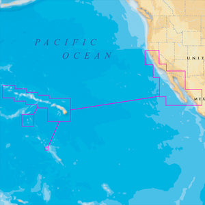 Navionics Platinum+ - Hawaii, California South to Baja - microSD/SD