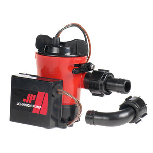 "Johnson Pump 1000GPH Ultima Combo Pump 3/4"" Hose Dura Port"