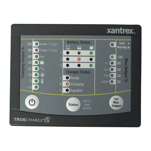 Xantrex TRUECHARGE™2 Remote Panel f/20 & 40 & 60 AMP (Only for 2nd generation of TC2 chargers)