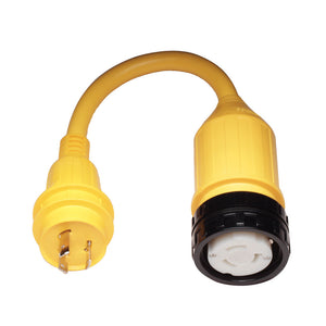 Marinco Pigtail Adapter - 50A Female to 30A Male