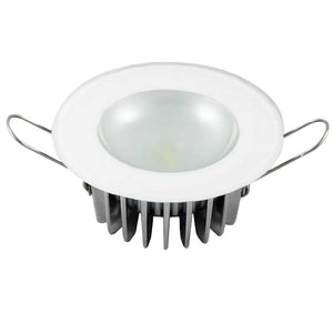 Lumitec Mirage - Flush Mount Down Light - Glass Finish/No Bezel - White Non-Dimming