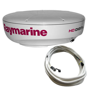 Raymarine RD418HD Hi-Def Digital Radar Dome w-10M Cable