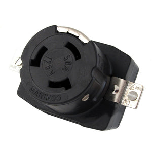 Marinco 6370CR 50Amp/125V Wire Dockside Receptacle