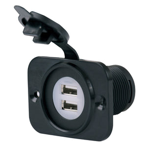 Marinco SeaLink® Deluxe Dual USB Charger Receptacle