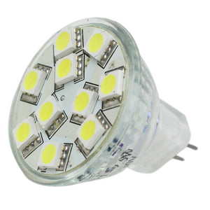 Lunasea MR11 10 LED Light Bulb - Cool White