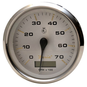 "Faria Kronos 4"" Tachometer w/Hourmeter - 7,000 RPM (Gas - Outboard)"