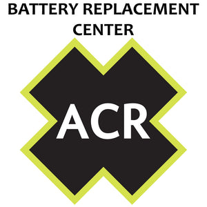 ACR FBRS 2880 & 2881 Battery Replacement Service - PLB-375 ResQLink-ResQLink+