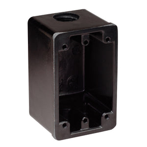 Marinco FS Box Black f-15A, 20A, 30A Receptacles