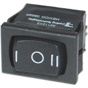 Blue Sea 7495 360 Panel - Rocker Switch DPDT - (ON)-OFF-(ON)