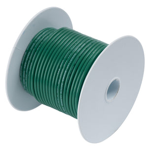 Ancor Green 14AWG Tinned Copper Wire - 100'