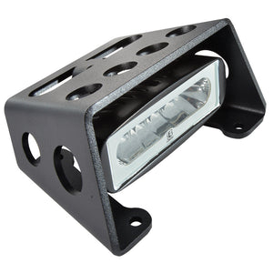 Lumitec Diesel - Extreme Duty LED Flood Light - Black Finish -White, Non-Dimming