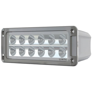 Lumitec Maxillumeh60 - Flush Mount Flood Light - White Housing - White Dimming