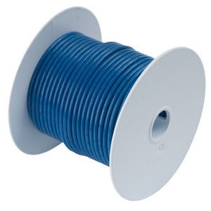 Ancor Dark Blue 16 AWG Tinned Copper Wire - 100'