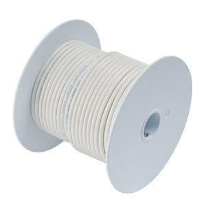 Ancor White 8 AWG Tinned Copper Wire - 25'