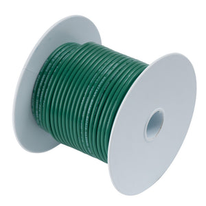 ANcor Green 6 AWG Tinned Copper Wire - 500'