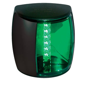 Hella Marine NaviLED PRO Starboard Navigation Lamp - 2nm - Green Lens-Black Housing