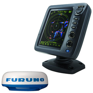 "Furuno 1815 8.4"" Color LCD 19"" 4kW Radar w-10M Cable"