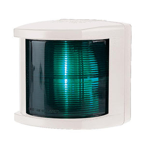 Hella Marine Starboard Navigation Light - Incandescent - 2nm - White Housing - 12V