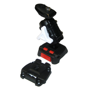 Scanstrut ROKK Mini Kit f/Dragonfly 4/5/7 Pro w/Raymarine Dragonfly 4/5 Plate, Adjustable Arm  Screw Down Surface Base