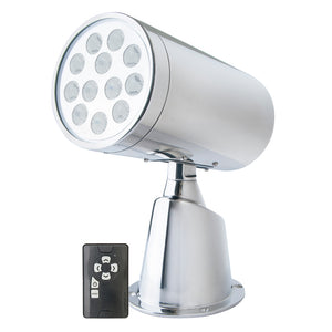 Marinco Wireless LED Stainless Steel Spotlight w/Remote