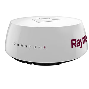 Raymarine Quantum 2 Q24D Radar Doppler w-15M Power  Data Cables