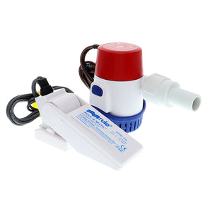 Rule 360 GPH Standard Bilge Pump Kit w/Float Switch - 12V