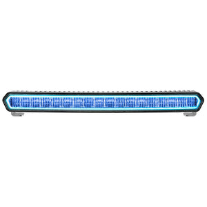 "RIGID Industries SR-L Series 20"" Off-Road LED Light Bar - Black w/Blue Halo Back Lighting"