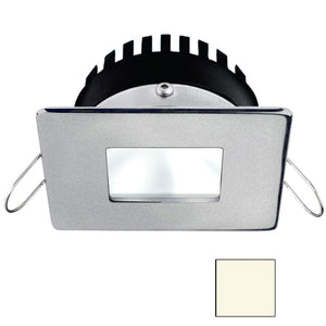 i2Systems Apeiron PRO A506 - 6W Spring Mount Light - Square/Square - Neutral White - Brushed Nickel Finish