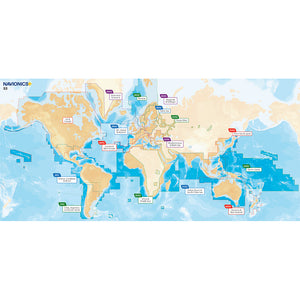 Navionics Navionics+ Updates Flexible Coverage World - microSD